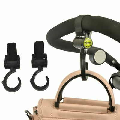 Baby Stroller Hook Hanger Grip Multifunctional 360 Basket Strap Bag Accessories