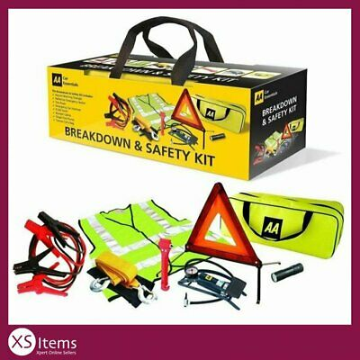 AA Car/Van 8 Piece Breakdown/Roadside Vehicle Car Safety Road Emergency Kit
