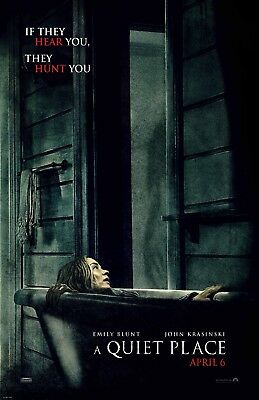 A Quiet Place movie poster (b) - 11 x 17 inches - Emily Blunt
