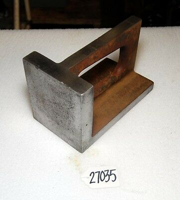 Angle Plate 4 1/2 in. wide x 8 in. x 5 in. (Inv.27035)