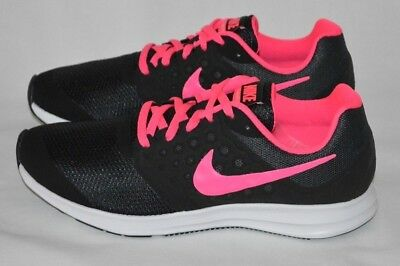 a801edfad5106c Nike Downshifter 7 Grade School Girls  Running Shoes Sneakers Black Pink Size  7Y