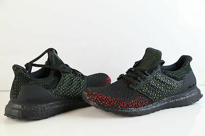 6eb8c66143f5a ADIDAS ULTRABOOST CLIMA Core Black Solar Red Ultra Boost AQ0482 ...