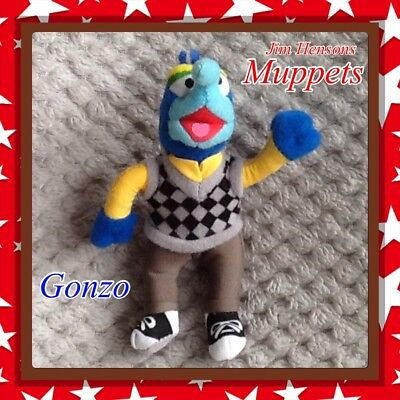 e5353625f51 THE MUPPETS  Gonzo  plush beanie baby soft toy Sesame Street Childrens TV  1980s