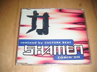 The Shamen - Comin' On ((Remixed By Culture Beat) CD single German Import