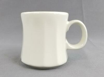 Homer Laughlin HLC Ribbed Fluted Off-White Restaurant Ware Coffee Mug / Tea Cup