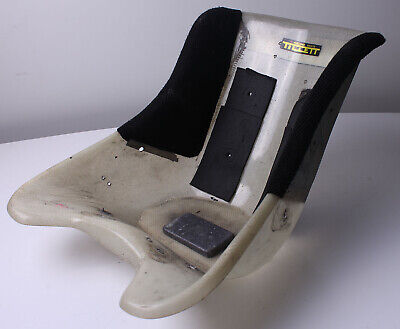 Go Kart Tillett Racing Seat - Size Small T11vg 1/4 cover Flat Bottom White Grade