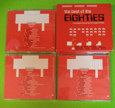 3 CD Compilation THE BEST OF THE EIGHTIES Blondie Culture Club Duran no mc (C3*)