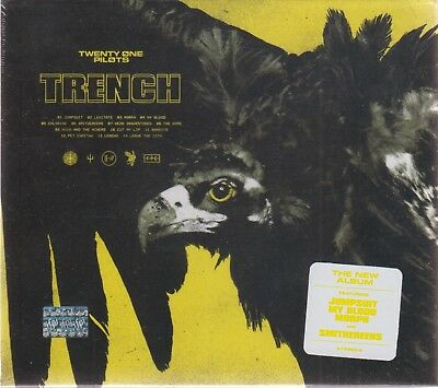 Twenty One Pilots - Trench (CD, Fueled By Ramen) 21 Pilots ORIGINAL USA SELLER!
