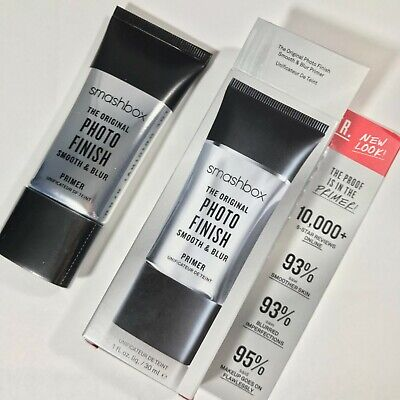 BNIB Smashbox Photo Finish Smooth & Blur Primer 1 fl oz