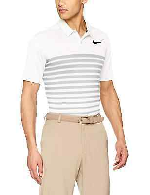 dbc669e5 NIKE GOLF Men's Dri-Fit Heather Stripe Polo Shirt NWT Standard Fit SIZE: XL