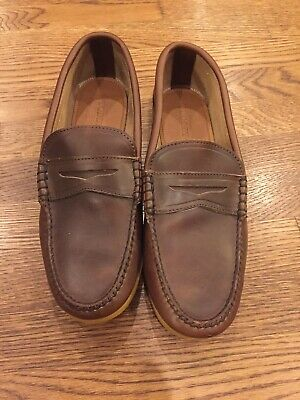 e53f7f9742a QUODDY SEWN IN Maine Men s Brown Penny Loafer