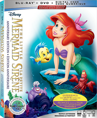 THE LITTLE MERMAID (30th Anniversary Edition) New !!