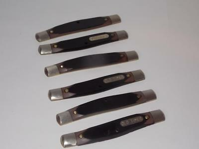 Schrade Unfinished Old Timer Pocket Knife Parts--Liners With Handles & Bolsters