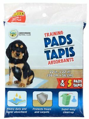 "Pet Puppy Dog Potty Training Pads, Small ( 22""x 22"" ), Choose Size"