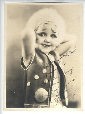 SHIRLEY JEAN 30s SIGNED PHOTO OUR GANG Little Rascals Hal Roach YOUNG!!!!