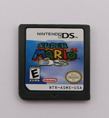 Super Mario 64 DS (Nintendo DS, 2004) Version Game Cartridges for 3DS/NDSI/2DS