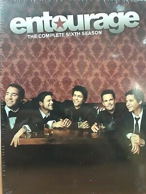 Entourage: The Complete Sixth Season (DVD, 2010, 3-Disc Set) Brand New, Sealed