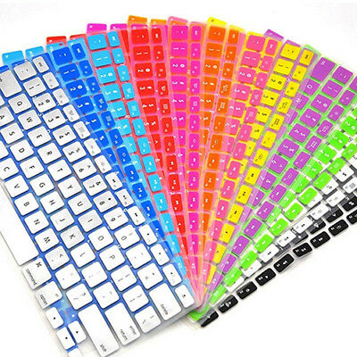 FT- Silicone Keyboard Protector Skin Cover for Apple Macbook Laptop Notebook Gra
