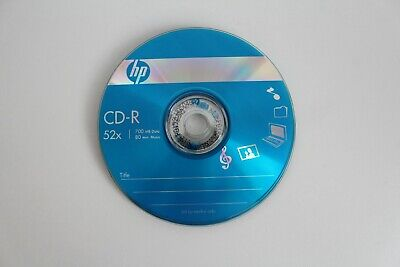 10x HP CD-R CD Discs Media 700MB 52x Blank CD Discs