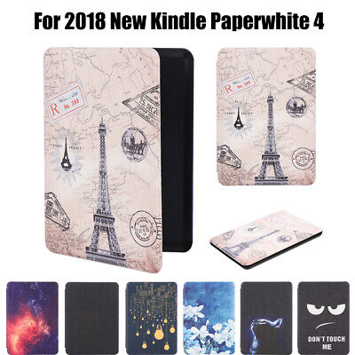 Shell Smart Case Cover For 2018 New Amazon Kindle Paperwhite 4 10th Generation
