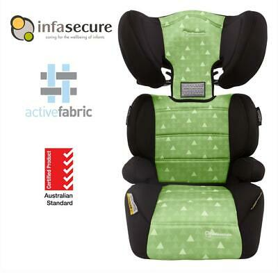 Infa Secure Vario Treo II Booster Car Seat 4-8 years Kid Child Toddler Green