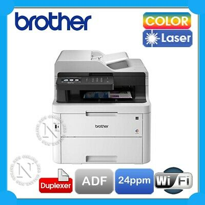 Brother MFC-L3750CDW Multifuction Wireless Colour Laser Printer+Duplex+ADF *RFB*