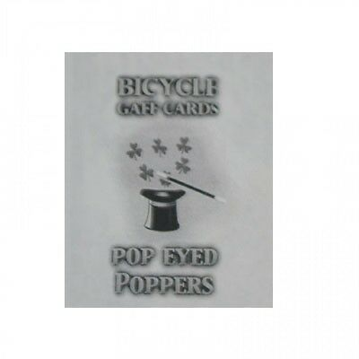 Pop Eyed Popper Bicycle Deck Poker Size Gaff Playing Cards - Magic Card Tricks