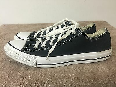 Converse Chuck Taylor All Star Low Shoes Black color size Men 8 women 10 d7af3ce6b