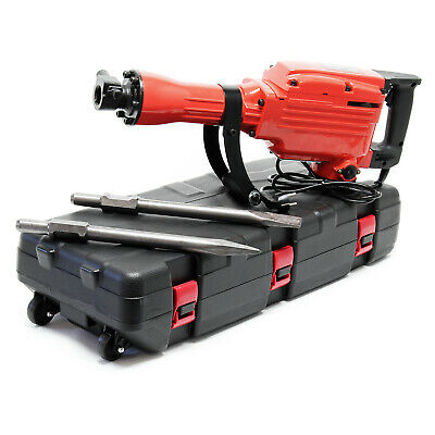 Demolition Hammer Jackhammer Concrete Breaker Drilling and Chiselling Tool 1600w