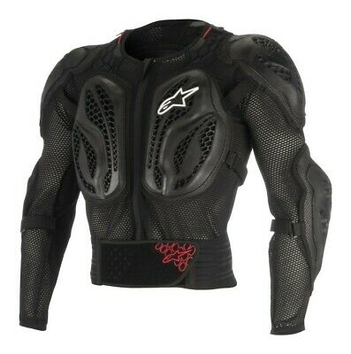 Alpinestars Bionic Action Jacket Body Armour Suit Black Motocross MX Adult