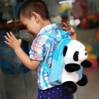 Panda Backpack Animal Doll Plush Cute Soft Toy Bag Animal Pillow Kid Gifts