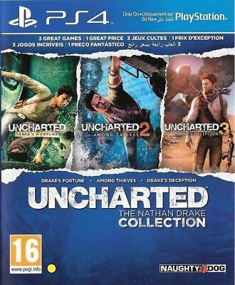 Uncharted The Nathan Drake Collection PlayStation 4 New Sealed Official PS4