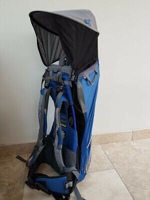 b25b9a8a177 BUSH BABY PREMIER Baby   Child Hiking Backpack Carrier (blue and ...
