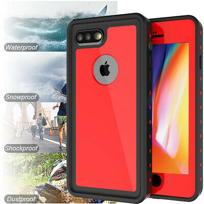 For Apple iPhone 8 Plus Waterproof Case Snowproof Shockproof iPhone 7 Plus Cover