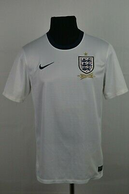 f9be74216 ENGLAND National HOME 2012-2014 150 Years FOOTBALL SHIRT Jersey Camisa S  SMALL