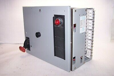 Ge 8000 Series Size 1 Fusible Motor Control Mcc Bucket Fvnr Cr3060**Acet
