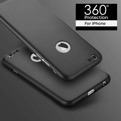 Case For iPhone 6S & 6 Shock Proof Crystal Clear Soft Silicone Gel Cover Black