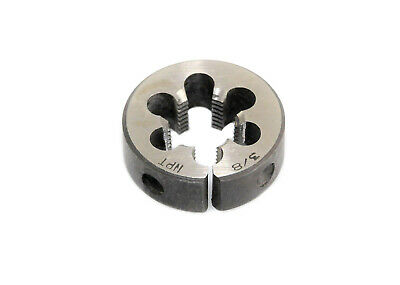 "3/8"" OD  NPT Carbon Steel Button Die Nut, Thread Cutting Tool."