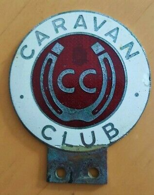 Vehicle Parts & Accessories A Vintage Caravan Club Pinches London Enamel And Chrome Car Badge With Bracket Automobilia