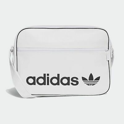 adidas Originals Vintage Airliner Bag white
