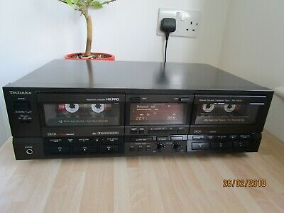 Technics RS-TR 555  Dual well Stereo Cassette Recorder