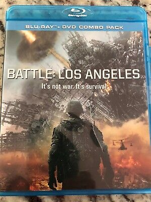 Battle Los Angleles  BluRay SciFi Horror Bluray and DVD Free Shipping