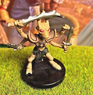 Thri Kreen Dd Miniature Dungeons Dragons Pathfinder Dark 17 Fighter