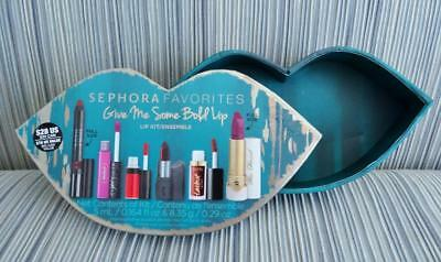 SEPHORA FAVORITES Give Me Some Bold Lip EMPTY BOX lip shaped for gift or storage
