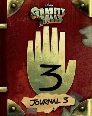 Gravity Falls: Journal 3 by Rob Renzetti (English) Hardcover Book Fast Shipping!