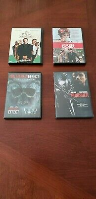 Lot of 4 DVD's, Whole Nine Yards, Butterfly Effect, The Punisher, My Name Doris