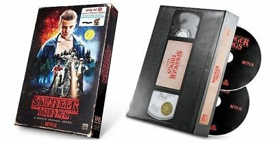 Stranger Things Season 1 Collector's Edition (Blu-ray + DVD) Target VHS packagin
