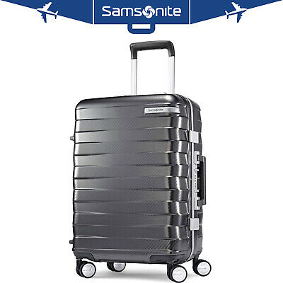 "Samsonite Framelock Hardside Carry On Luggage with Spinner Wheels 29"" Dark Grey"