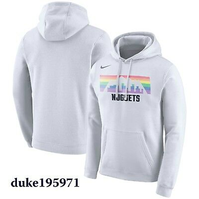 7f5f247e7 Nike Limited Edition Denver Nuggets City Edition Performance Hoodie Large
