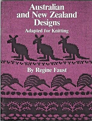 AUSTRALIAN  & NEW ZEALAND DESIGNS by Regine Faust -1983 Vintage Collectible